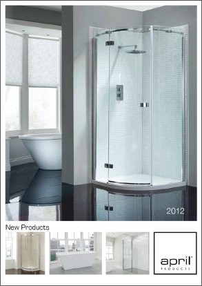 April Products Brochure 2012 Cover