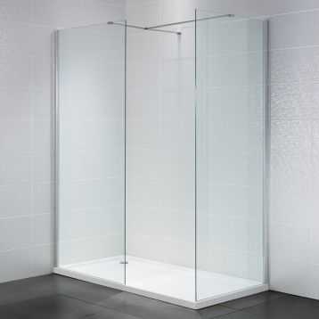 Wetroom with Side Panel