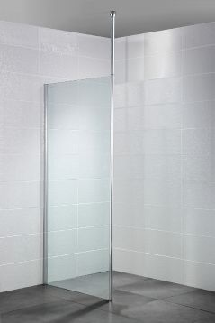 Wetroom with Floor to Ceiling Post
