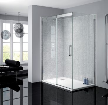 Frameless Sliding Door & Side Panel