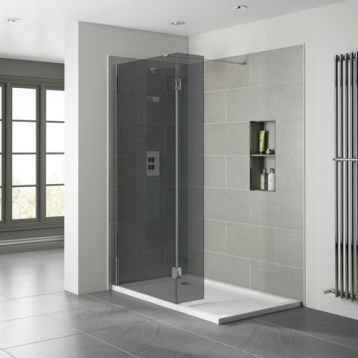 10mm Wetroom - Smoked Glass