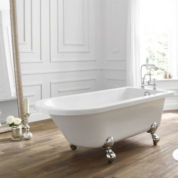 Bentham single ended freestanding bath